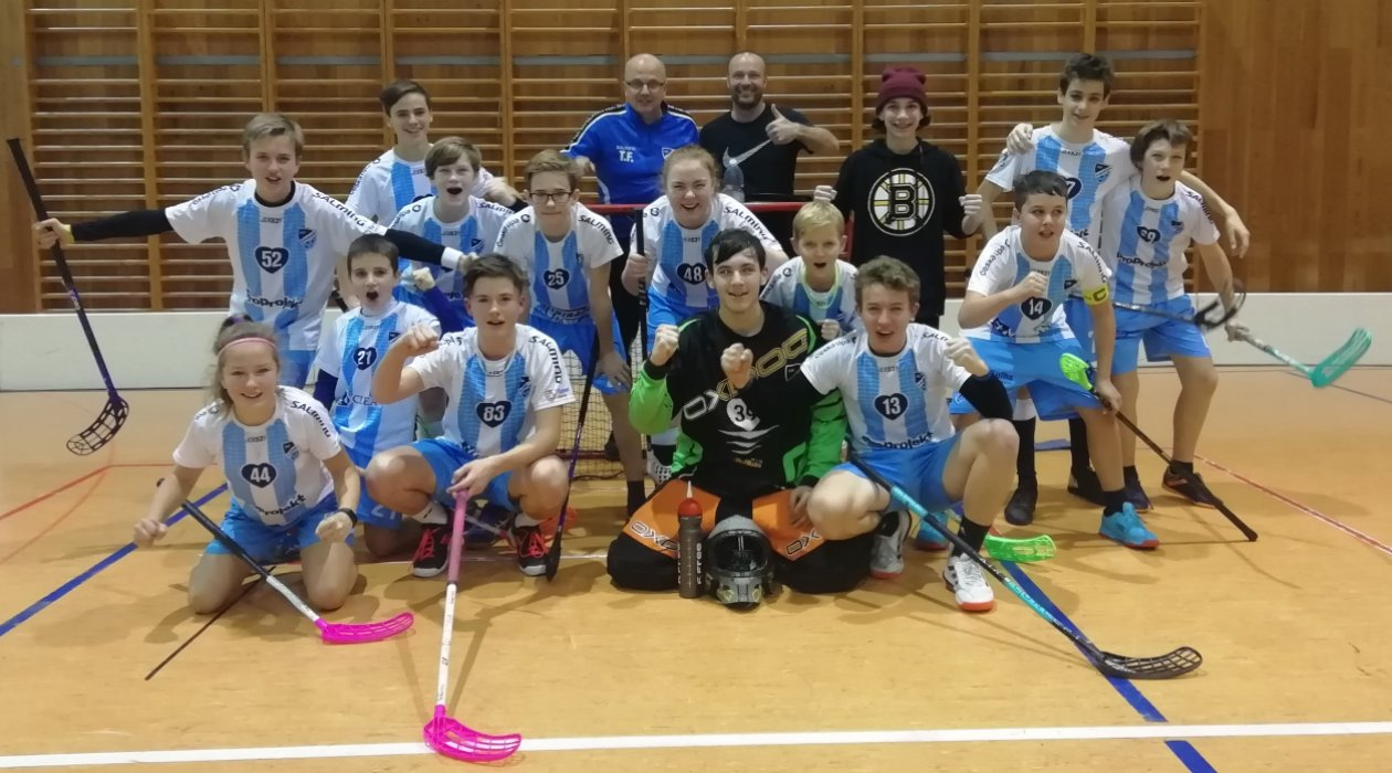 Tým starších žáků FBC Šluknovsko si v sobotu splnil svůj sen.