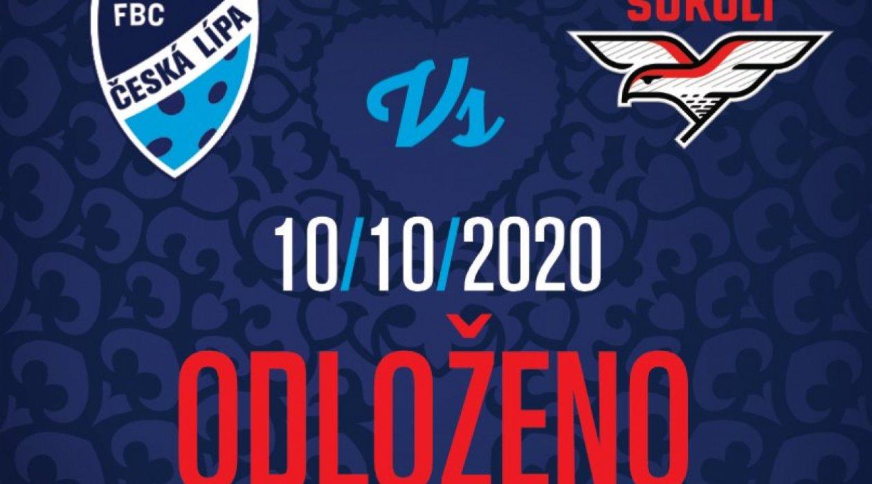 Sobotní zápas s Pardubicemi je odložen